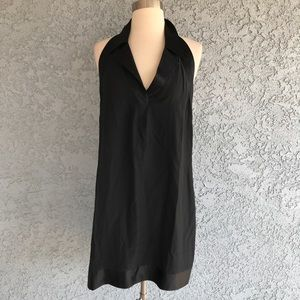 What comes Around Goes Around 100% Silk Dress L